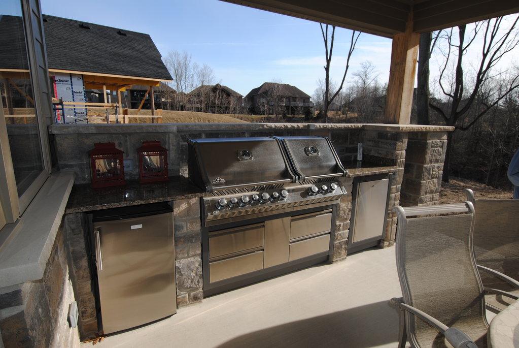 Built in Outdoor BBQ