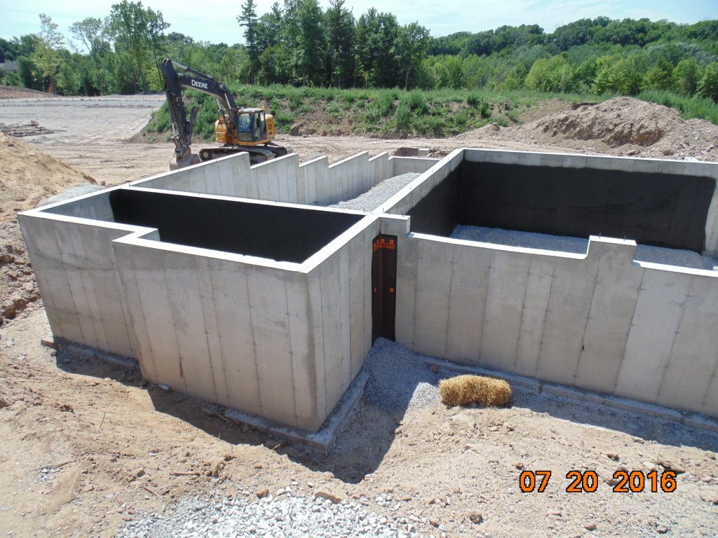 Nine Inch Foundation Walls Looking Solid