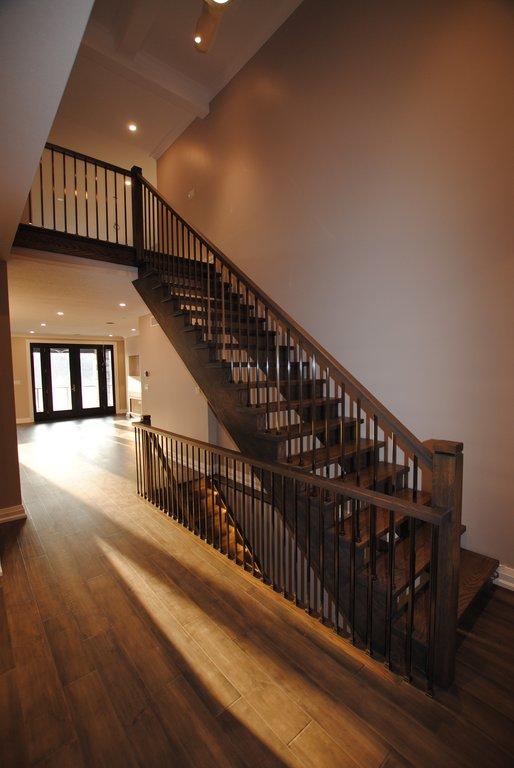 Open Run Staircase