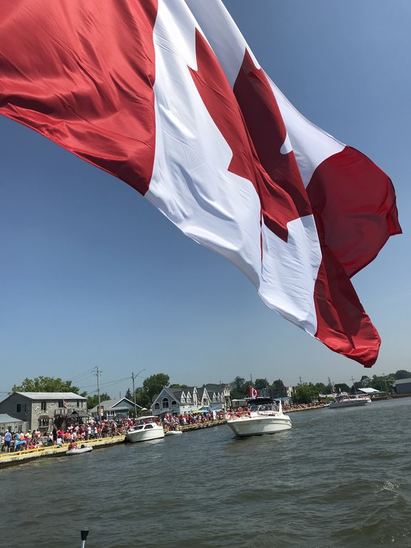 Canada Day on the Pier